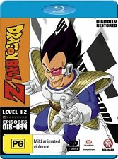 Dragon Ball Z : Level 1 : Part 2 (Blu-ray, 2012, 2-Disc Set), New and Sealed
