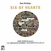 Phillips: Six of Hearts / Woolrich, Wiegold, et al by Mary Wiegold (CD,...