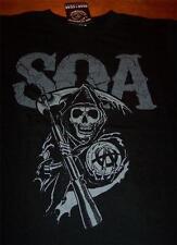 SONS OF ANARCHY SOA REEPER T-Shirt MEDIUM NEW w/ TAG Motorcycles