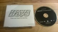 CD Punk Farmer Boys - If You Ever Leave Me (1 Song) Promo MOTOR / UNIVERSAL sc