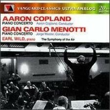 Aaron Copland / Gian Carlo Menotti / Earl Wild - Symphony of the Air [New CD]