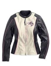 HARLEY-DAVIDSON WOMEN'S LIMITED EDITION PINK LABEL JACKET 97010-14VW size Small