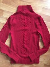 NEW CLEO Women's Long Sleeve Top Shirt O/S Small Red