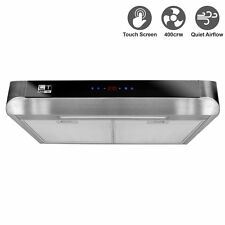 Livetech Stainless Steel 30-Inch Under Cabinet Kitchen Range Hood RS-BTS030-3E