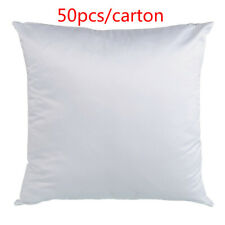 16'' × 16'' Plain White Sublimation Blank Pillow Case Fashion Cushion Cover