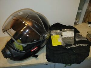 Ski-Doo BVS2 Helmet DOT Certified Full Face Protection Quick-Release Strap sz lg