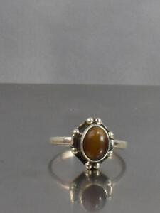 CrazieM Sterling 925 Silver Vintage Southwest Estate Ring Size 4-4.75 1.8g x26