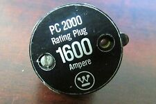 CUTLER HAMMER WESTINGHOUSE 20PC1600 1600 Amp PC Rating Plug 2601D39G38