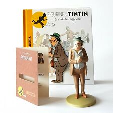 FIGURINE COLLECTION OFFICIELLE TINTIN N°16 OLIVEIRA DA FIGUEIRA LIVRET PASSEPORT