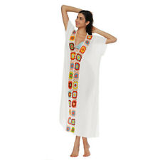 JP Mother & Kids Boho Women Summer Beach Cover up Swimwear Maxi Sundress Dress