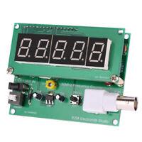 1Hz-50MHz Digital LED Frequency Counter Meter Tester BNC Input 7V-9V 50mA H5Y5