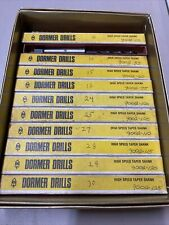 New listing Nos Dormer Taper Shank High Speed Drill Bits Lot of 11 Different Sizes