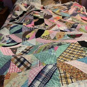 vintage handstitched Quilt