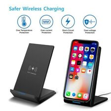 20W Fast Wireless Charger Stand Qi Charging Dock with Cable for Samsung & iPhone
