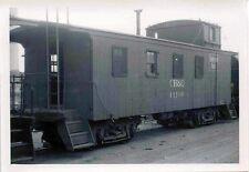 H862 RP 1960/70s? CB&Q RAILROAD CABOOSE #11199