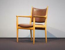Hans J. Wegner Stuhl / Chair JH 513 - Eiche & Leder - Danish Midcentury Design