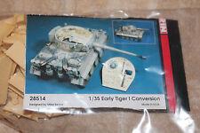 Kirin 28514 Early Tiger I Conversion Resin NEU 1:35 Umbau-Set