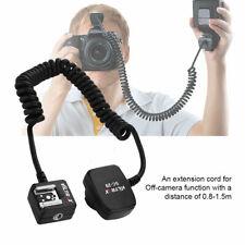 TTL Off-Camera Flash Sync Extension for Nikon Hot Shoe 0.8m Camera Accessories
