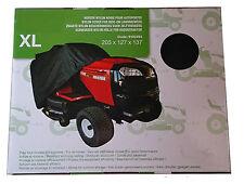Bâche housse pour tracteur tondeuse autoportée avec ramassage