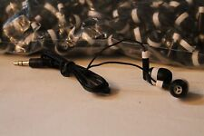 Lot of 25 Black/White 3.5mm Headphones / Earbuds - Great for Kids / Schools