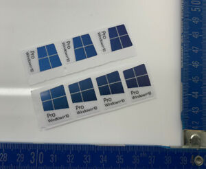 WINDOWS® 10™ PRO™ AUFKLEBER ¦ STICKER | 7x