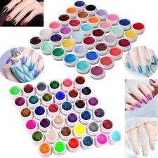 Pro 72 Mix Farbige UV Gel Nagel Set Deko Tipps Farbgel Nagelgel Pure Nail Art