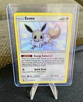Eevee SV41/SV94 Hidden Fates Pokemon Card HOLO RARE NEAR MINT NM FRESH NO PLAY
