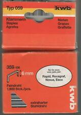 Standard KWB Klammern Typ 051//351 Feindraht 351-106