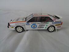 Audi quattro rally car model Janner Rally 1985 1/43