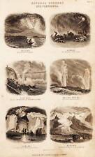 Antique Print Engraving 1864 Oliver Goldsmith Natural Scenery and Phenomena II