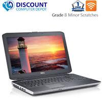 """Dell Laptop Latitude 15.6"""" Windows 10 Core i5 4GB 320GB HD DVD Wifi PC Computer"""