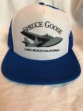Spruce Goose Long Beach California Trucker Hat