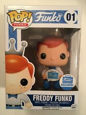 FUNKO POP FREDDY FUNKO SIGN CROWN #01 FUNKO SHOP .COM EXCLUSIVE R2S