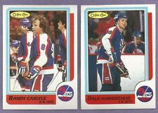 1986-87 OPC O-PEE-CHEE Winnipeg Jets Team Set