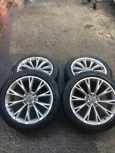 """AUDI A8 QUATTRO MK3 2011 19"""" ALLOY WHEELS WITH TYRES 225/45/19"""