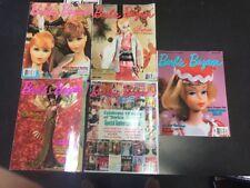 Lot of 7 BARBIE BAZAAR Doll Collector's Magazines 1997 1998 C45