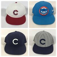 Pick One-Chicago Cubs New Era 59 Fifty MLB On Field Cap Fitted 7 5/8 Cap Pick  1