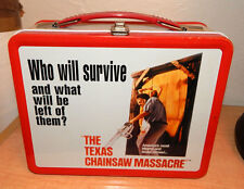 NECA LEATHERFACE THE TEXAS CHAINSAW MASSACRE METAL LUNCH BOX & THERMOS