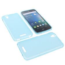 Custodia Per Acer Liquid Z630 Custodia Cellulare TPU Gomma Custodia Blu