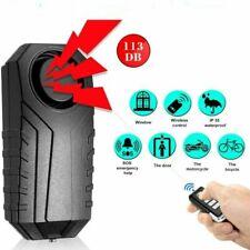 113dB Wireless Motorrad Fahrrad Diebstahl Alarmanlage wasserdicht und Super laut