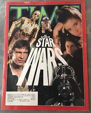 Star Wars 1983 Time Return Of The Jedi Vintage Magazine