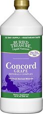 Buried Treasure Liquid Plant Derived Minerals Concord Grape - 32 oz.