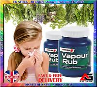 2 Pcs Masterplast Vapour Rub Congestion Relief Chest Rub Menthol Eucalyptus