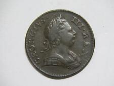 GREAT BRITAIN 1773 HALF PENNY BRITANNIA GEORGE III LOW GRADE WORLD COIN #F 🌈⭐🌈
