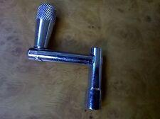 Tecla de ajuste de la piel del tambor giratorio tipo metálico 6mm Nuevo