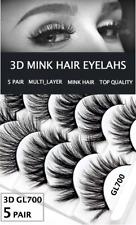 5 Pair MULTI-LAYER Eyelash Long Thick Mixed Fake Eye Lashes Makeup Mink 3DGL700