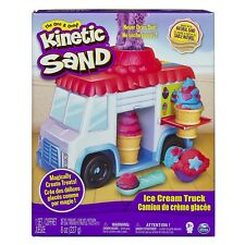 Kinetic Sand Build Ice Cream Truck Mold Build It Playset Modelling Play Toy
