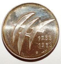 Jeton/medaille en argent 1789-1989 Paume (W 042)