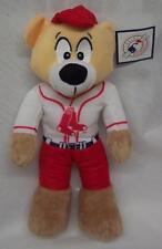 "Boston Red Socks TEDDY BEAR BASEBALL MLB PLAYER 12"" Plush STUFFED ANIMAL Toy NEW"
