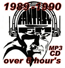 RAVE  ACID HOUSE  MP3 CD OLD SKOOL FANTASY FM PIRATE RADIO 1990
